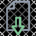 File Arrow Sign Icon