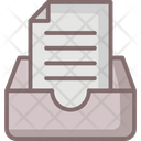 Drawers Business Files Archive Icon