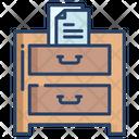 File Drawer Drawer File Icon
