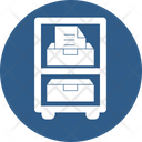 File Drawer File Storage Business Icon