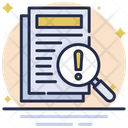 File Error Document Error Icon