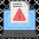 File Error File Alert File Caution Icon