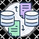 File Exchange File Transfer Data Transfer Icon