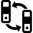 File Exchange Sharing Icon