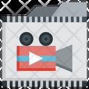 File Film Music Multimedia Edit Tools Video File Icon