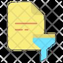 File Filter Icon