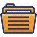 File Folder Archives Document Icon