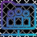 File Folder Network Icon