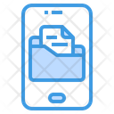 Folder Smartphone File And Folder Icon