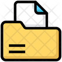 File Folder Document Icon