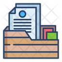 File Folder Document Folder Paper Folder Icon