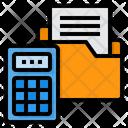 Accounting Calculator Folder Icon