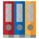 File Folder Binder Archive Icon