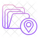 Mmap File Folder Storage File Folder Location Documnet Folder Location Icon