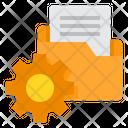 Folder Management Gear Icon