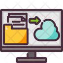 Cloud File Upload Icon