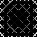 File Forbidden Ban Document Ban File Icon
