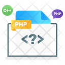 File Format File Coding File Programing Icon