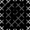 File File Format File Extension Icon