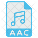 File Format Aac Icon