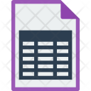 File Format Excel Icon