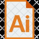 File Format Illustrator Icon