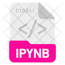 Ipynb File Format Icon