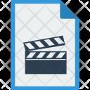 File Format Movie Icon