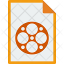 File Format Mpeg Icon