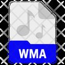 File format music wma file- Icon
