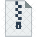 File Format Zip Icon