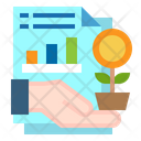 Report File Graph Icon