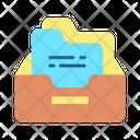 Inbox Document Holder File Holder Inbox Icon