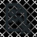 File Image Delete Icon
