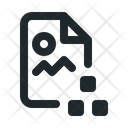 File Image Organization Icon