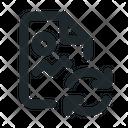 File Image Sync Icon