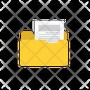 File In Folder Folder Files Icon