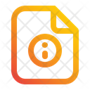 File Information Document Icon