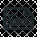 Landscape File Document Icon