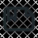 Landscape Bookmark File Icon
