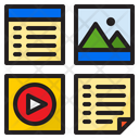 File Layout User Interface Icon