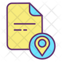 Mfile Location Map File Location Document Location Icon