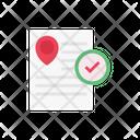 File Location Check Icon