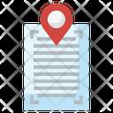File Location Pin File Icon