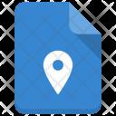 Location Pin File Icon