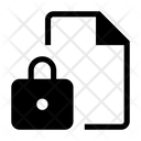 File Lock Lock Security Icon