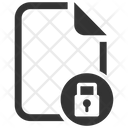 Lock Protection File Icon