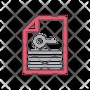 Lock Key File Icon