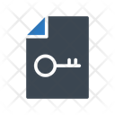 File Key Lock Icon
