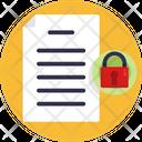 File Lock Lock File Icon